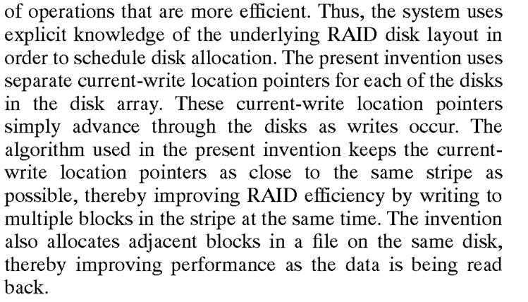 Netapp patent clip