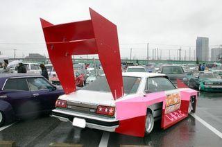 Big car fin